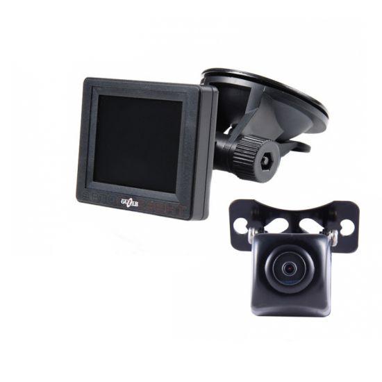 Видеокамера заднего вида Gazer CC100 + автомонитор Gazer MC125