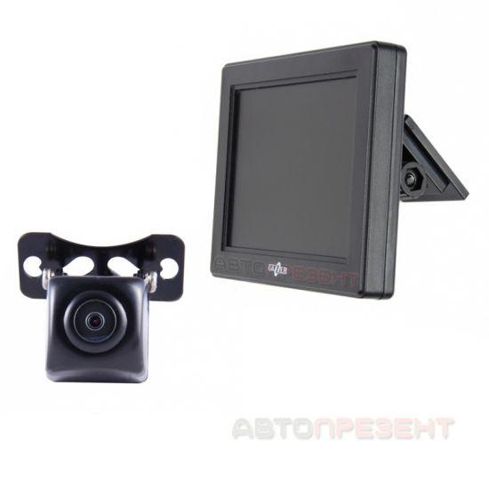 Видеокамера заднего вида Gazer CC125 + автомонитор Gazer MC135