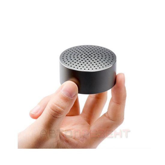 Портативный активный динамик Xiaomi Portable Mi Bluetooth Speaker  (черный)