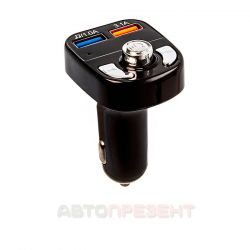 Автомобільний FM модулятор з дисплеєм C195 Bluetooth