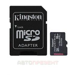 Карта пам'яті Kingston Micro SD 16GB