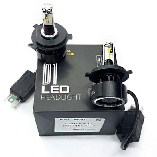 Cветодиодные Led лампы GS D1 H4 (Cooler) 3600LM
