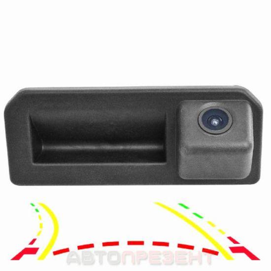 Штатная камера в ручку багажника AudioSources SKD800-IPAS VAG для Skoda