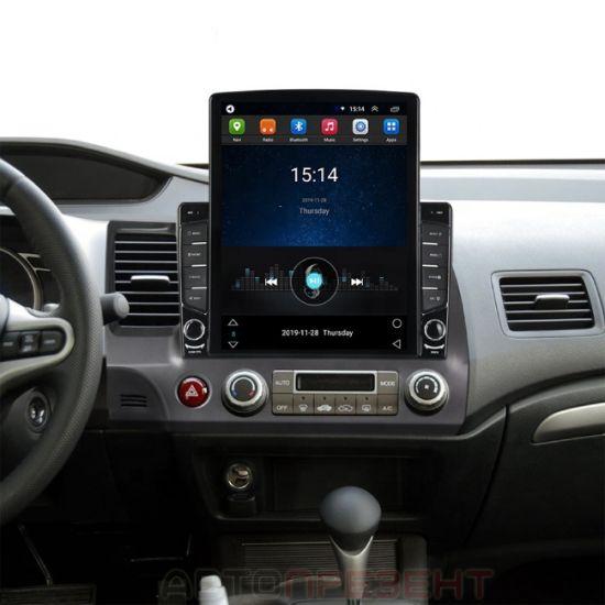 Штатная автомагнитола TORSSEN для Honda Civic 2012+  Tesla Style B9232