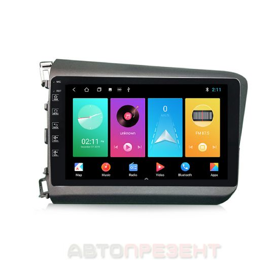 Штатна автомагнітола TORSSEN для Honda Civic 2012+ F9116