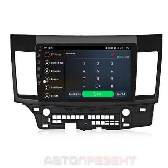 Штатна автомагнітола TORSSEN для Mitsubishi Lancer X 2007-2014 F10116