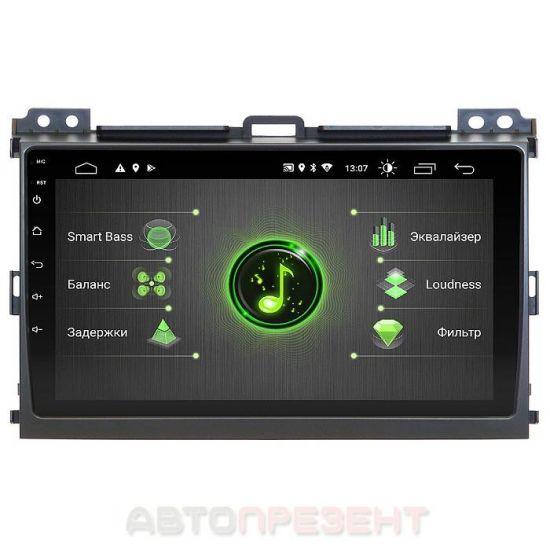 """Штатная автомагнитола Incar для Toyota Prado 120 Android 10 9"""" DSP +Navi (DTA-2209)"""