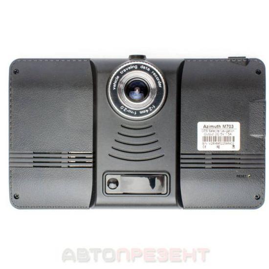 Навігатор Azimuth M506 з відеореєстратором