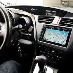 Установка мультимедийной магнитолы с GPS и микрофоном