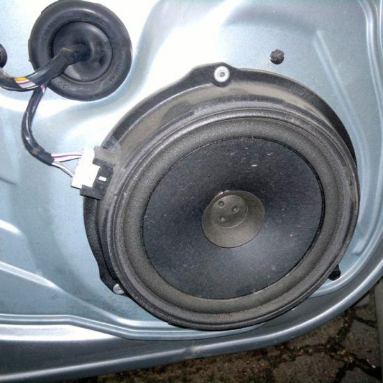 Установка акустической системы (динамики) 2шт с протягиванием проводов