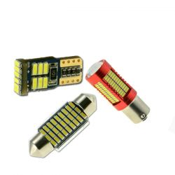 LED габариты, салон и др.