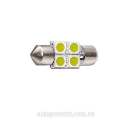 Светодиодная автолампа CYCLON T11-005(31mm) 5050-4 12V ST