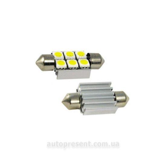 Светодиодная автолампа CYCLON T11-007(36) CAN 5050-6 12V ST