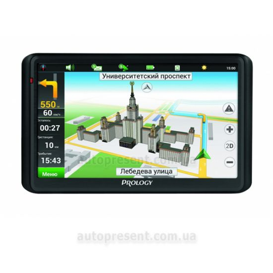 GPS навигатор PROLOGY iMap-5600 Black/Gun Metal