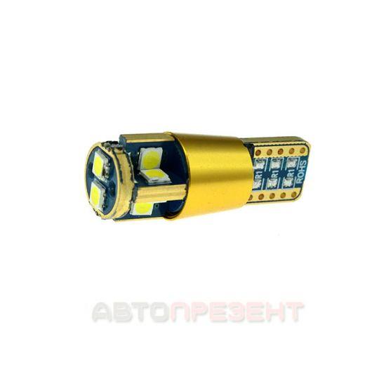 Светодиодная автолампаT10-048 CAN 3030-10 12-24V MJ