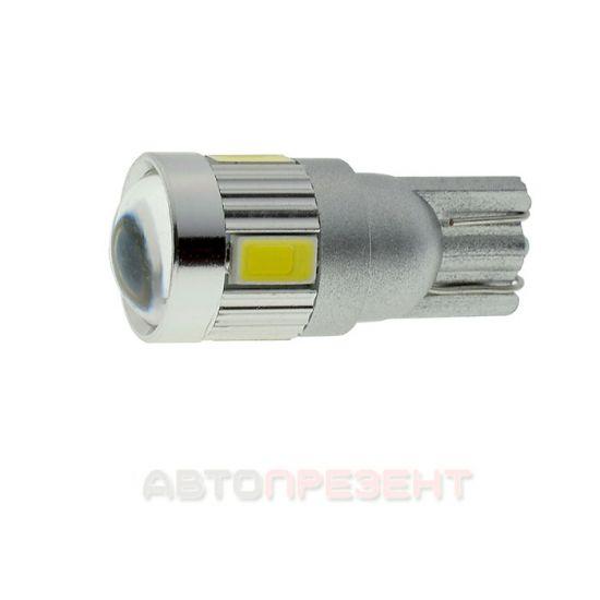 Светодиодная автолампаT10-060 5630-6 12V SD