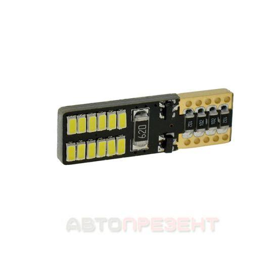 Светодиодная автолампаT10-061 CAN 3014-24 12V SD