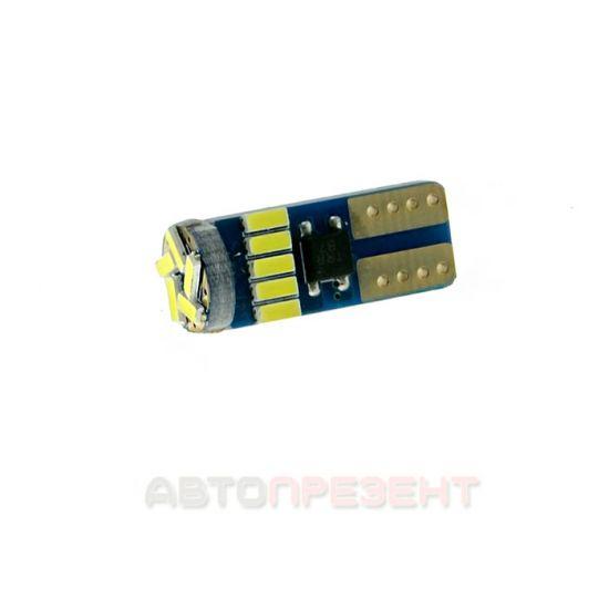 Светодиодная автолампаT10-045 CAN 4014-15 12V MJ