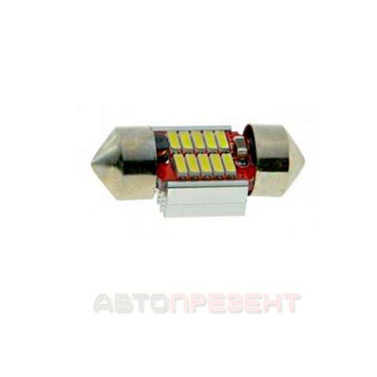 Светодиодная автолампаT11-015(31) CAN 4014-10 12V MJ