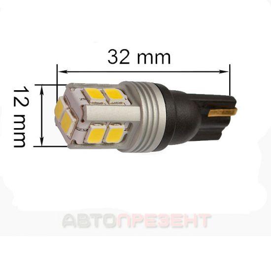 Светодиодная лампа Prime-X T10SV-CAN с обманкой (комплект 2 шт.)