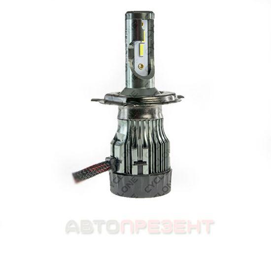 Светодиодная LED лампа Cyclon H4 H/L 5000K 5600Lm Ep type 24
