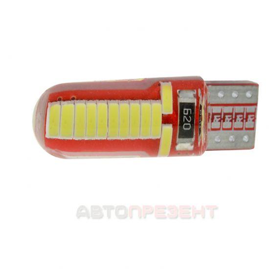 Светодиодная лампа CYCLON T10-037 4014-24 12V MJ