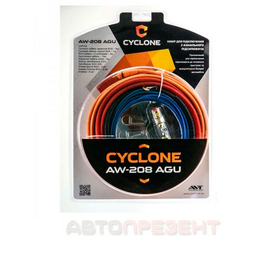 Установочный комплект для усилителя CYCLONE AW-208 AGU