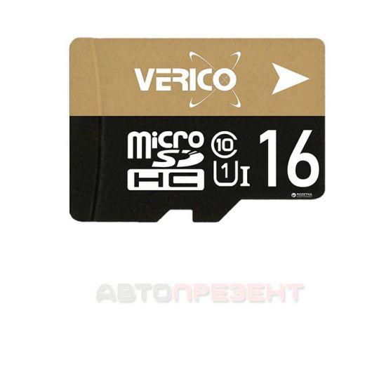 Карта памяти Verico microSD Class10 16GB