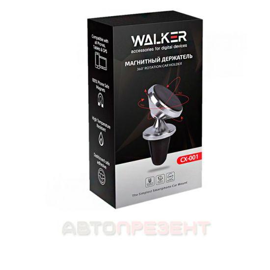 Автодержатель WALKER CX-001 Magnetic 360 в вент решетку