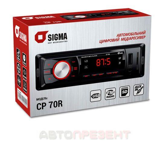 Автомагнитола Sigma CP-70 R