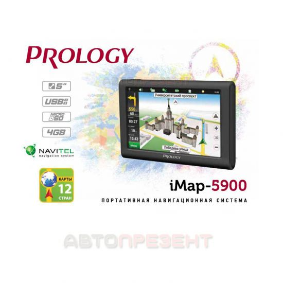 Навигатор PROLOGY iMap-5900
