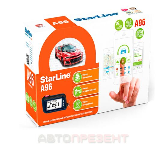 Автосигнализация StarLin A96 2CAN+2LIN