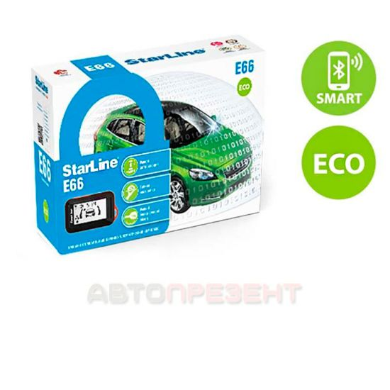 Автосигнализация Starline E66 BT ECO 2CAN+2LIN