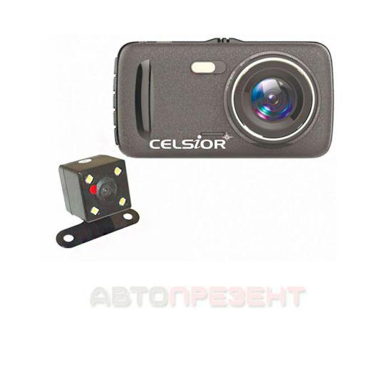 Видеорегистратор Celsior DVR CS-711 Dual