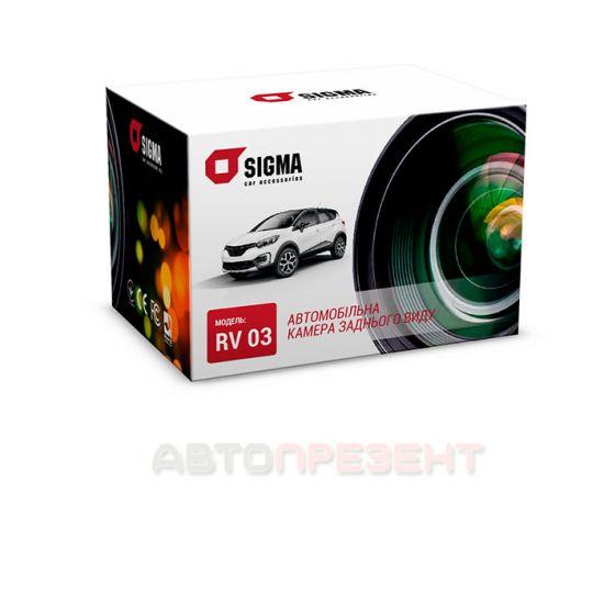Автомобильная камера заднего вида SIGMA RV 03