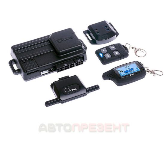 Автосигнализация Sigma SM500 PRO
