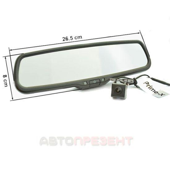 Зеркало-видеорегистратор Prime-X 050D Full HD