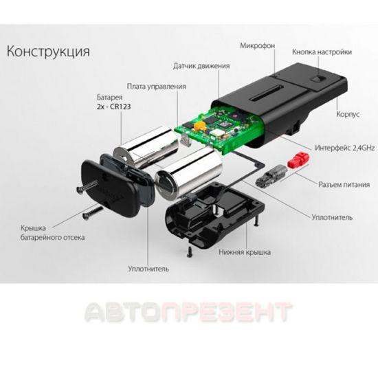 Телеметрический GSM/GPRS/GPS/ГЛОНАСС-модуль Pandora NAV-09UA
