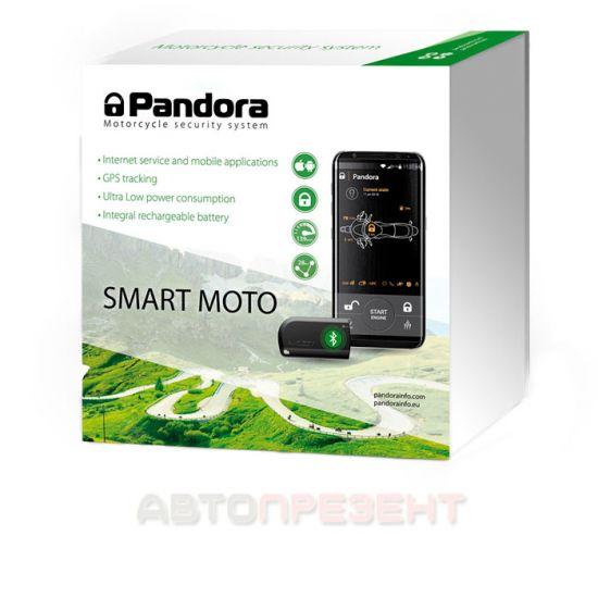 Мотосигнализация Pandora Smart Moto
