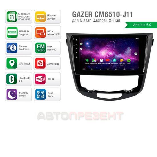 Мультимедийная система Gazer CM6510-J11