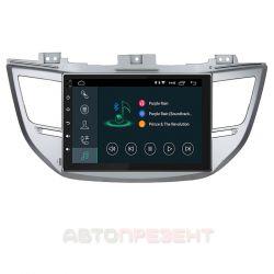 Автомагнітола штатна Incar XTA-2404 для Hyundai Tucson (2016-2018) Android 8.1