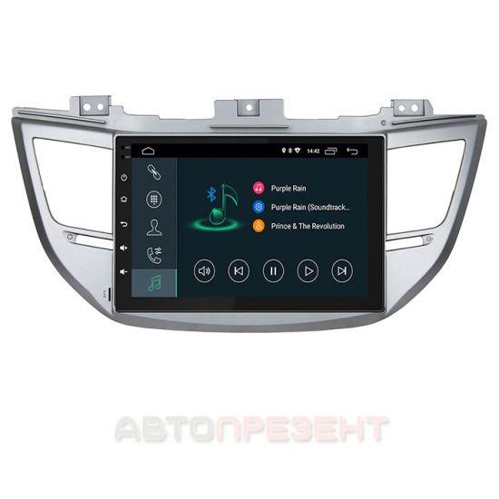 Штатная магнитола Incar XTA-2404 для Hyundai Tucson (2016-2018) Android 8.1