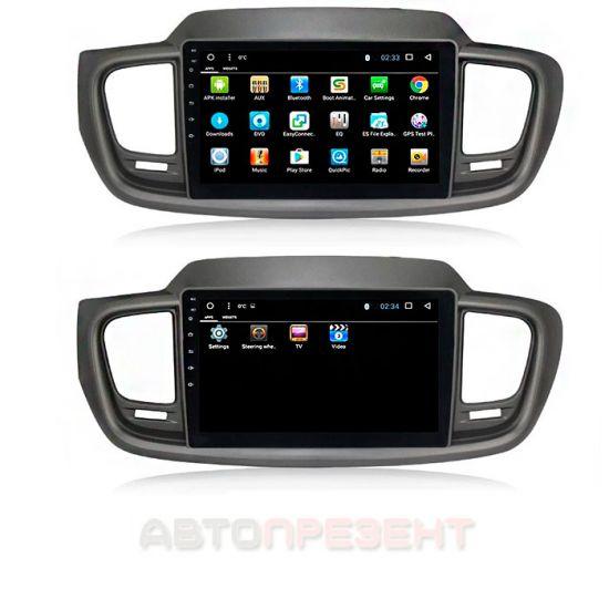 Магнитола KIA SORENTO USB, GPS, Android 7.1