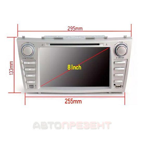 Штатная магнитола TOYOTA Camry 40 DVD GPS навигация