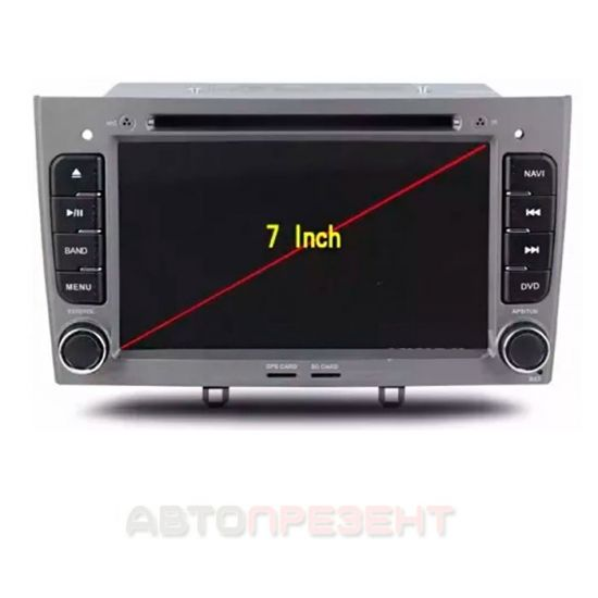 Штатна магнітола для Peugeot 308, 408 android GPS