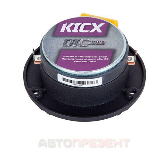 Автоакустика Kicx DTC 38V2